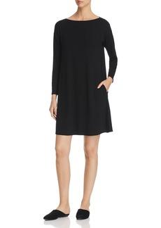 Eileen Fisher Twist Back Shift Dress