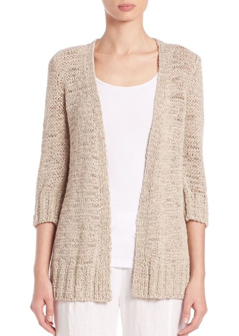 Eileen Fisher Twisted Tape Cardigan