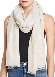 Eileen Fisher Two-Tone Metallic Scarf