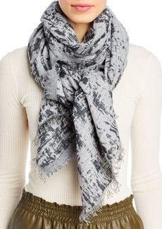 Eileen Fisher Two Tone Scarf