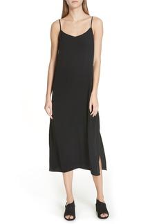 Eileen Fisher V-Neck Cami Dress (Regular & Petite)