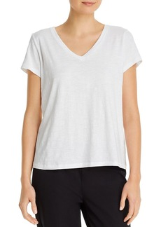 Eileen Fisher System V-Neck Tee