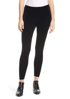 Eileen Fisher Velvet Ankle Leggings (Regular & Petite)