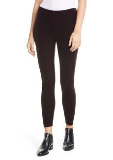 Eileen Fisher Velvet Ankle Leggings (Regular & Petite)