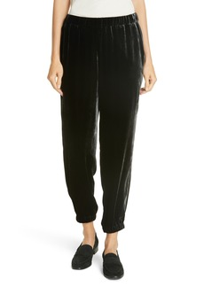 Eileen Fisher Velvet Jogger Pants (Regular & Petite)