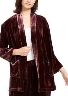 Eileen Fisher Velvet Shawl-Collar Kimono, Regular & Petite
