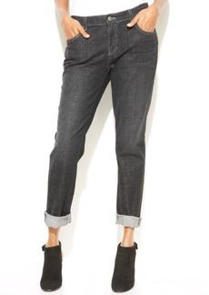 Eileen Fisher Vintage Black Wash Boyfriend Jeans