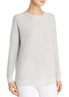 Eileen Fisher Waffle-Knit Sweater