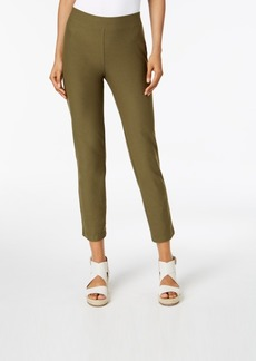 Eileen Fisher Washable Crepe Slim-Leg Ankle Pants, Regular & Petite