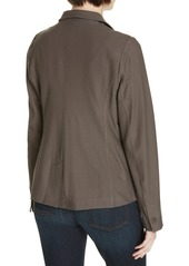 Eileen Fisher Washable Stretch Crepe Jacket (Regular & Petite) (Nordstrom Exclusive)