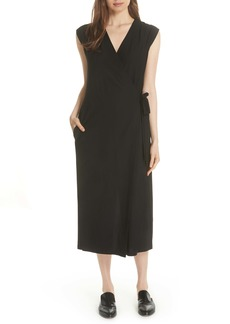 Eileen Fisher Washable Stretch Crepe Jumpsuit