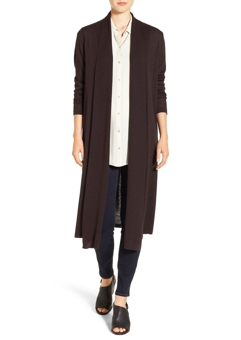 Eileen Fisher Eileen Fisher Washable Wool Crepe Kimono Duster ...