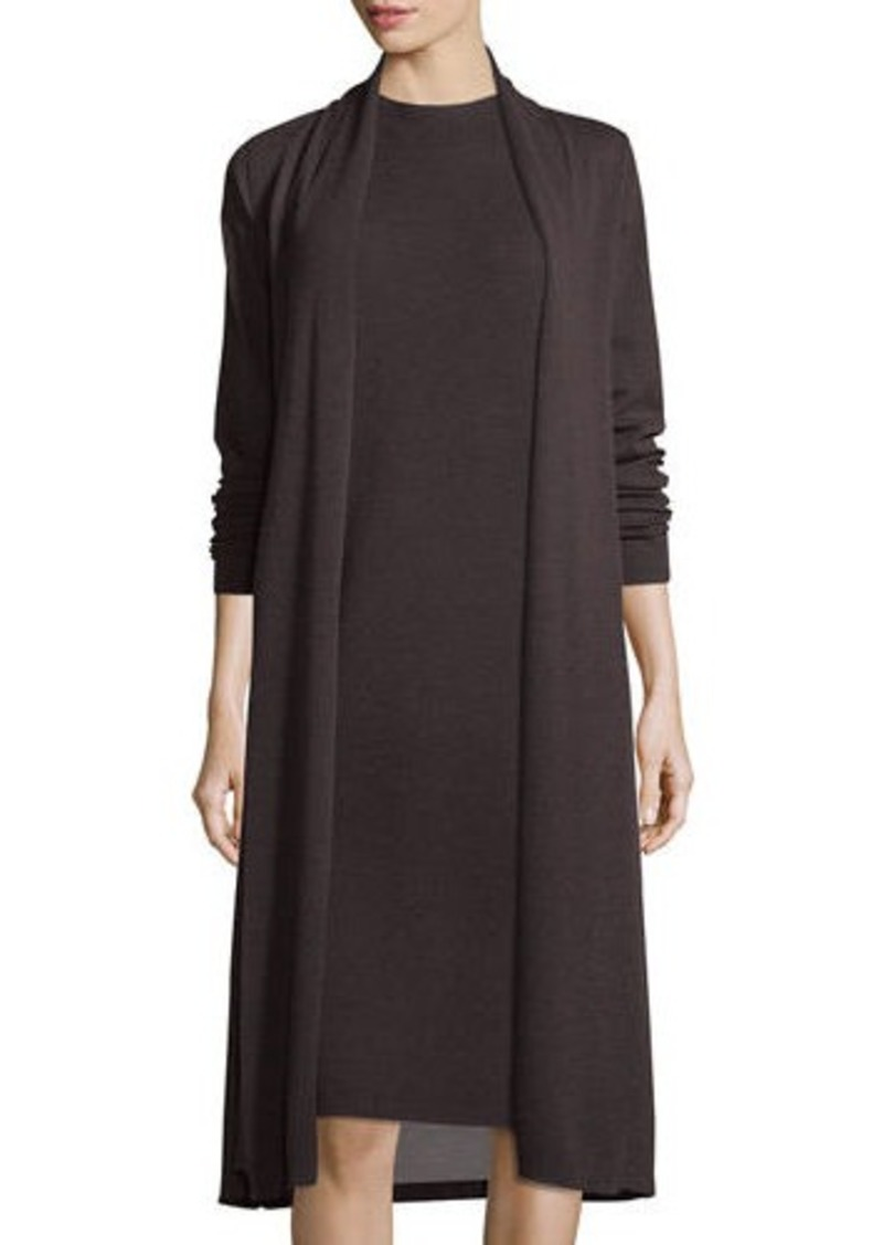 Eileen Fisher Eileen Fisher Washable Wool Kimono Duster Cardigan ...