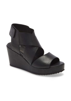 Eileen Fisher Whimsy Platform Wedge Sandal (Women)