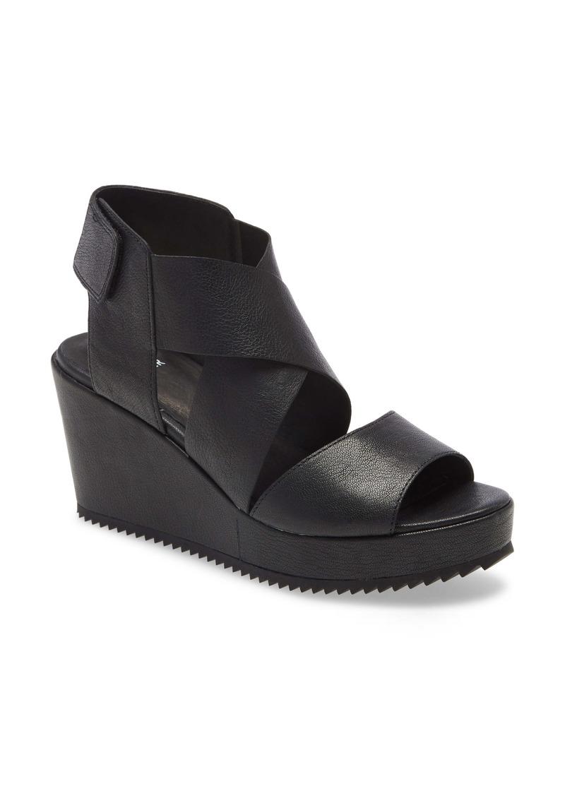Eileen Fisher Whimsy Platform Wedge Sandal (Women)