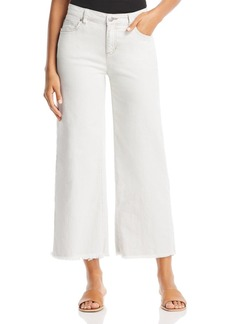 Eileen Fisher Wide-Leg Ankle Jeans in Unnatural