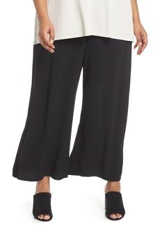 Eileen Fisher Wide Leg Ankle Pants (Plus Size)