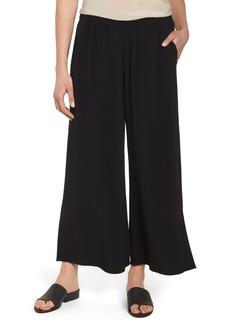 Eileen Fisher Wide Leg Ankle Pants (Regular & Petite)