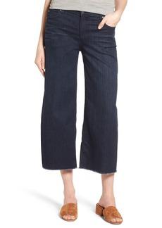 Eileen Fisher Wide Leg Crop Jeans