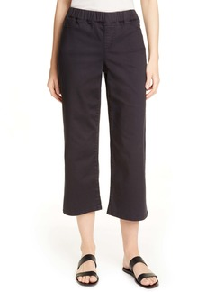 Eileen Fisher Wide Leg Crop Jeans (Regular & Petite)