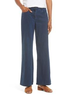 Eileen Fisher Wide Leg Jeans (Midnight)
