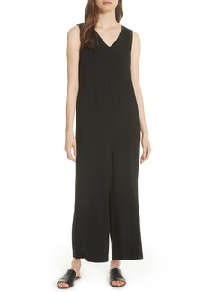 Eileen Fisher Wide Leg Jumpsuit (Regular & Petite)