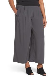 Eileen Fisher Wide Leg Pants (Plus Size)