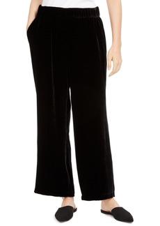 Eileen Fisher Wide-Leg Pull-On Pants