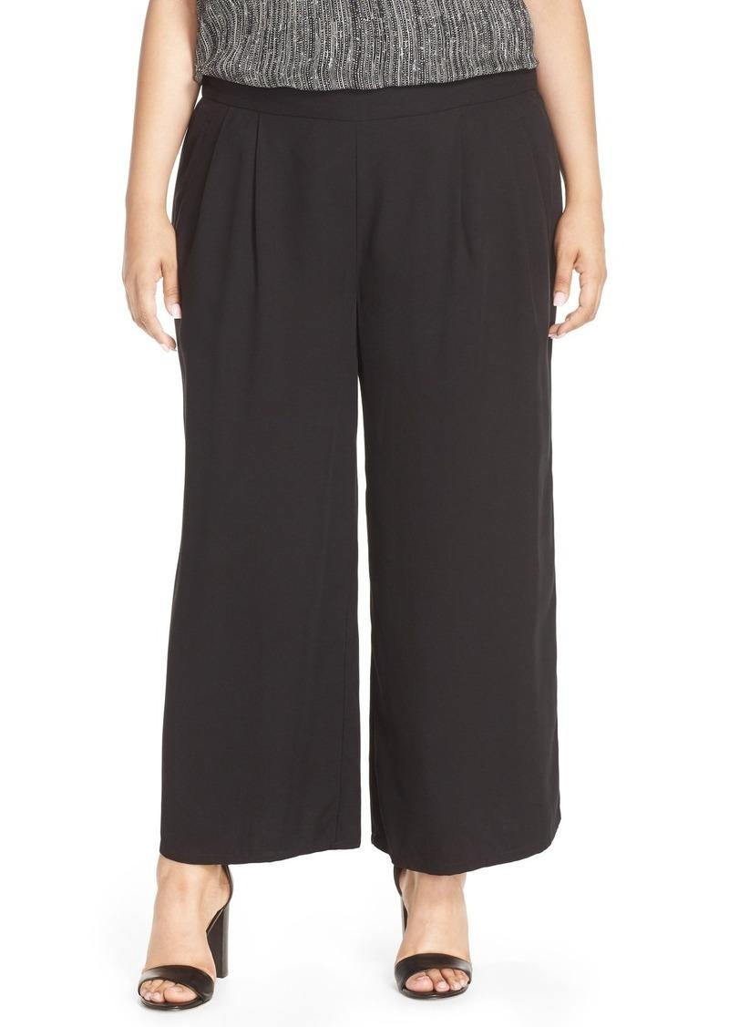 d1eebc3604619b Eileen Fisher Eileen Fisher Wide Leg Tencel® Pants (Plus Size ...