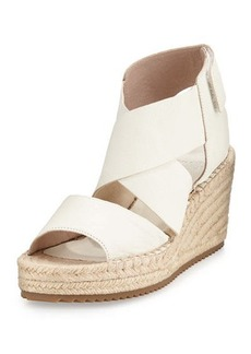 Eileen Fisher Willow Leather Espadrille Sandal