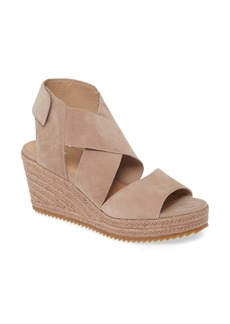 Eileen Fisher Willow Strappy Wedge Sandal (Women)
