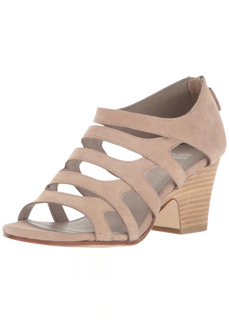 Eileen Fisher Women's Dawson-NU Heeled Sandal   Medium US