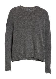 Eileen Fisher Wool & Mohair Blend Crewneck Sweater