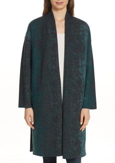 Eileen Fisher Wool Blend Coat