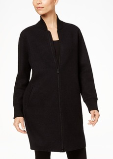 Eileen Fisher Wool Bomber Coat