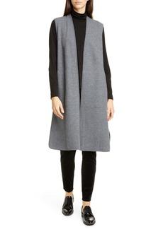 Eileen Fisher Wool Duster Vest
