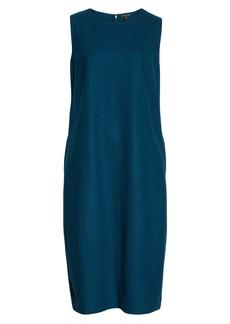 Eileen Fisher Wool Lantern Dress (Regular & Petite)