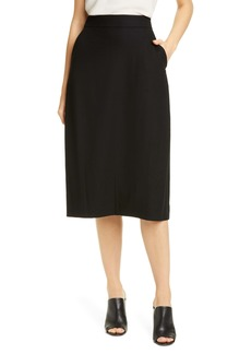 Eileen Fisher Wool Lantern Skirt