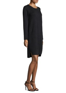 Eileen Fisher Wool Roundneck Dress