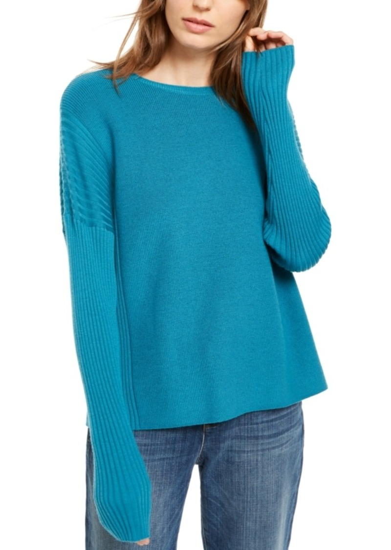 Eileen Fisher Wool Sweater, Regular & Petite- Created for Macy's