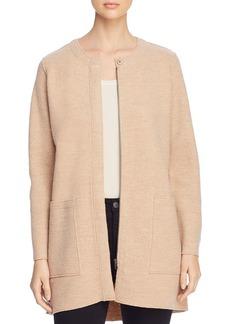 Eileen Fisher Wool Zip-Front Jacket