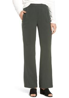 Eileen Fisher Woven Tencel® Straight Leg Pants