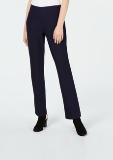 Eileen Fisher Yoked Washable Crepe Bootcut Pants, Regular & Petite, Created for Macy's