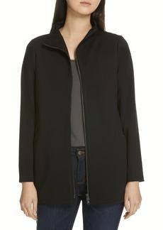 Eileen Fisher Zip Front Jacket
