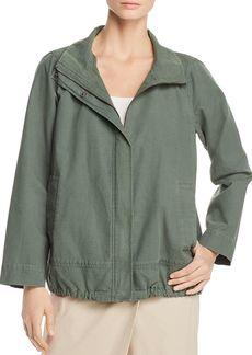 Eileen Fisher Zip-Front Jacket