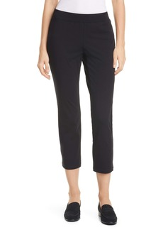 Eileen Fisher Zip Hem Slim Ankle Pants