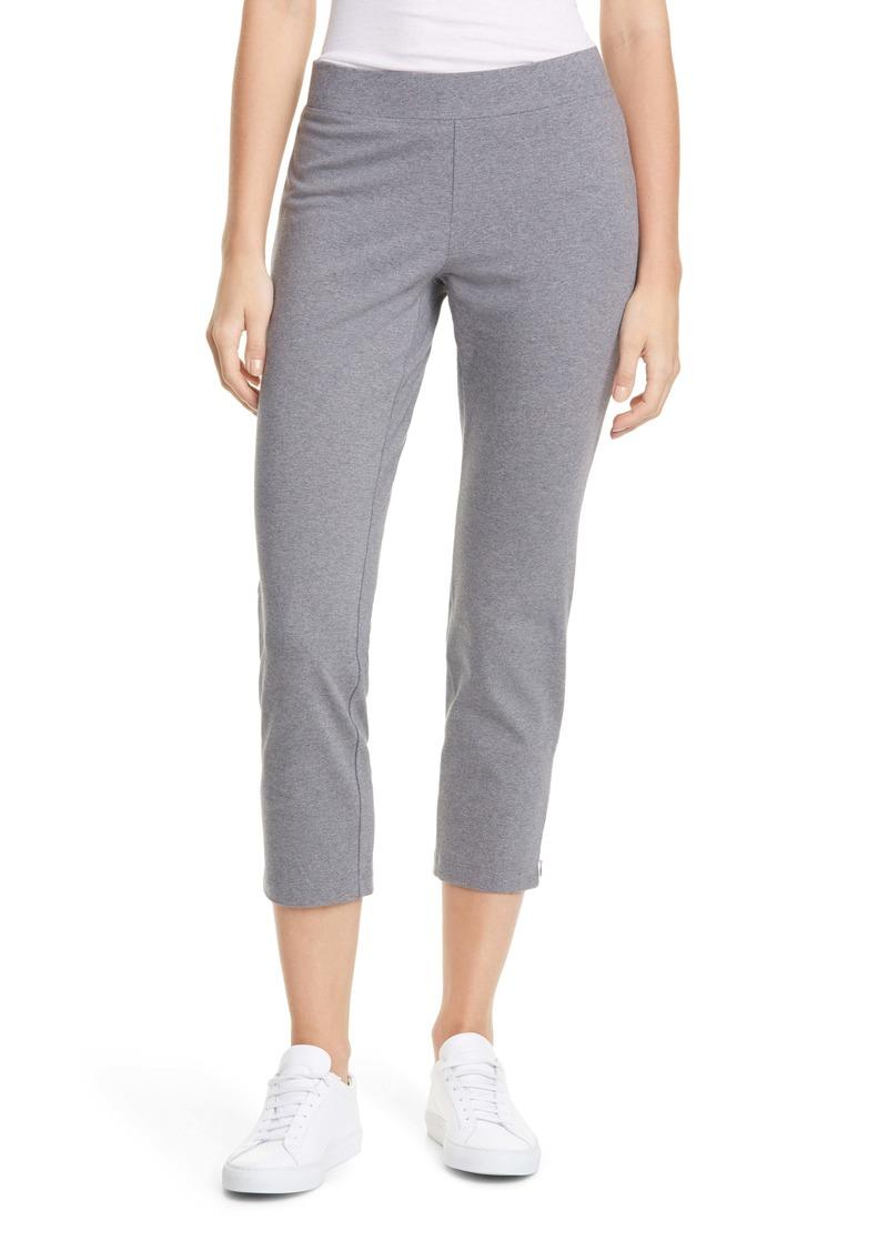 Eileen Fisher Zip Hem Slim Ankle Pants (Regular & Petite)