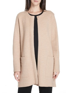 Eileen Fisher Zip Wool Jacket