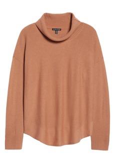 Eileen Fisher EileenFisher Draped TurtleneckSweater (Regular & Petite)