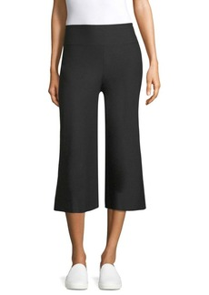 Elasticized Culotte Pants
